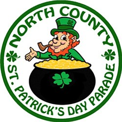 Graphic photo for the 3rd Annual North County St. Patrick's Day Parade & Festival on March 16th, 2014.