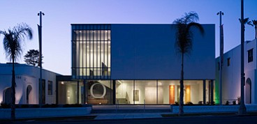 Exterior photo of Oceanside Museum of Art.