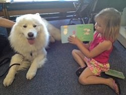Promotional photo of Paws to Read at Mission Valley Branc...