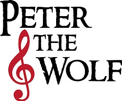 """Promotional graphic for the performance of the children's classic """"Peter and the Wolf"""" at the Balboa Theatre, Sunday, November 23 at 2 p.m. Courtesy of Malashock Dance"""
