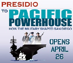 """Promotional graphic for """"Presidio To Pacific Powerhouse: ..."""