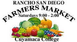 Graphic logo for the Rancho San Diego Farmers Market.