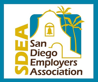 Graphic logo of San Diego Employers Association.