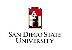 Promotional graphic for San Diego State University.