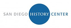 Graphic logo for the San Diego History Center.