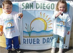 Promotional photo for the San Diego River Days, May 10-18, 2014.