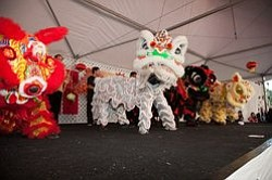 Promotional image of San Diego Chinese New Year on February 8-9, 2014.