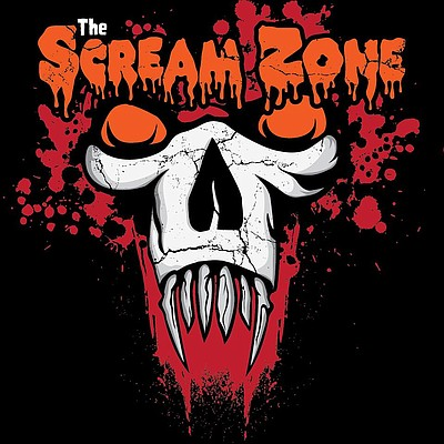 Promotional graphic for The Scream Zone 2014. Courtesy of The Scream Zone.