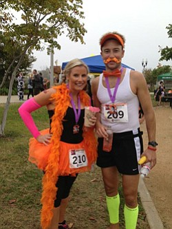 Promotional photo from 2013 Spooktacular race participants.