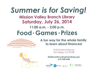 Promotional graphic for the Summer Saving event at Missio...