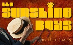 """Promotional graphic for """"The Sunshine Boys"""" at the Scripps Ranch Theatre, May 31 – Jun. 29, 2014."""