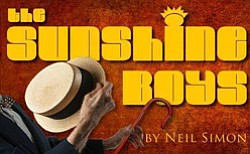 "Promotional graphic for ""The Sunshine Boys"" at the Scripps Ranch Theatre, May 31 – Jun. 29, 2014."