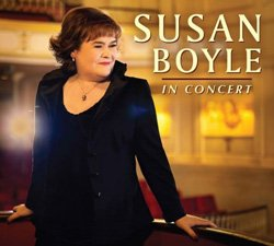 Promotional photo of Susan Boyle in concert at Balboa Theater on October 8, 2014.