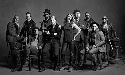 Promotional graphic for Tedeschi Trucks Band.