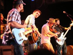 Promotional photo of The Turnpike Troubadours playing at the House of Blues on April 11, 2014.