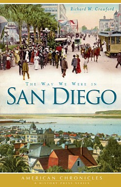 "Promotional book cover of ""The Way We Were in San Diego"" ..."