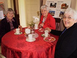 Promotional photo of Valentine's Day Tea at Sikes Adobe Historic Farmstead. Courtesy photo of Sikes Adobe Historic Farmstead.