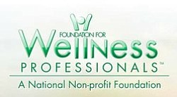 Graphic logo of the Foundation for Wellness Professionals.