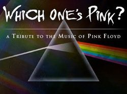 Promotional logo for Which One's Pink? (A Tribute to Pink Floyd) performing at House of Blues San Diego.