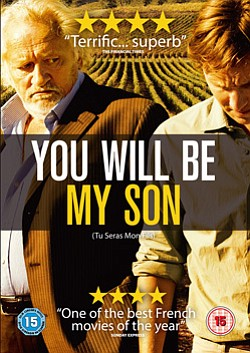 "Promotional movie poster for ""You Will Be My Son"" playing at Mission Valley Branch Library on March 26, 2014."