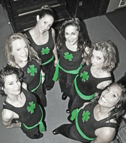 Photo of the lovely ladies from Atomic Groove.