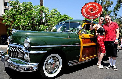 Promotional graphic for the 6th Annual Tiki Oasis Car Sho...