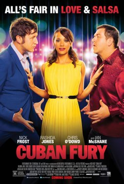 "Promotional movie poster for ""Cuban Fury"" playing on August 25, 2014."