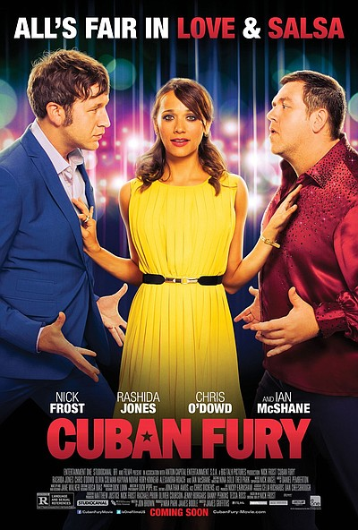 """Promotional movie poster for """"Cuban Fury"""" playing on Augu..."""