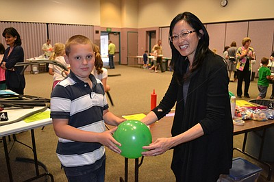Promotional photo of Family Science Saturday. Courtesy of Reuben H. Fleet Science Center.