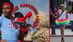 Promotional graphic for The Amazing High Heel Race. Courtesy of Fabulous Hillcrest.
