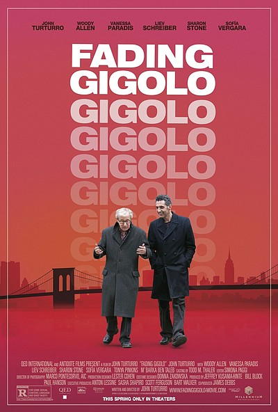 """Fading Gigolo"" promotional film poster."