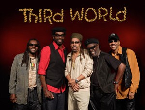 Photo of famous reggae group, Third World.