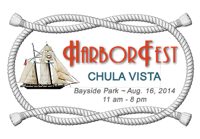 Promotional graphic for HarborFest 2014.