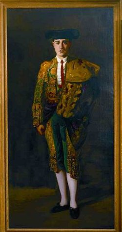 Promotional photo of a Spanish painting created by late artist, Robert Henri.