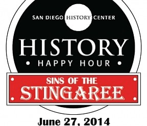 Promotional graphic for History Happy Hour: Sins of the Stingaree.