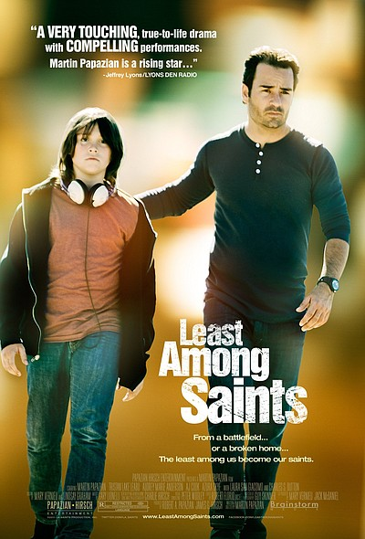 """Least Among Saints"" promotional film poster."