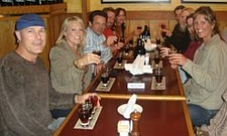 Photo of people attending a previous San Diego Craft Brewery Tour. Courtesy of San Diego Brewery Tours & Events.