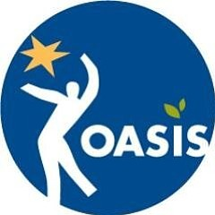Graphic logo of OASIS.