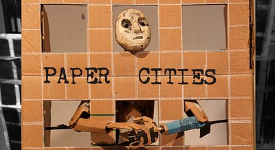 "Promotional photo for ""Paper Cities."" Courtesy of La Jolla Playhouse."