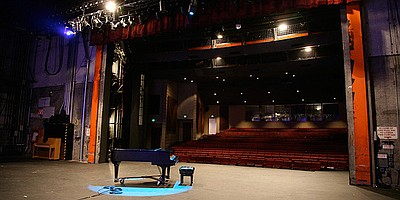 Photo of Smith Recital Hall at San Diego State University.