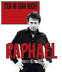 Promotional photo of Spanish singer, Raphael.