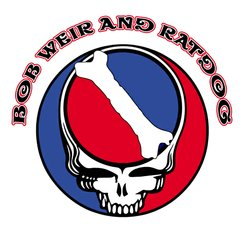 Promotional graphic for Bob Weir & RatDog.