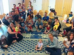 Promotional photo of Baby Signs Story Time at Mission Valley Library.