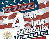 Promotional graphic for the City of El Cajon's 4th of July celebration. Courtesy of the City of El Cajon.