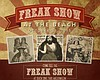 Promotional graphic for the Duck Dive's Freak Show at the Beach