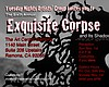 "Promotional graphic for the 6th annual ""Exquisite Corpse & Its Shadow"" Exhibition & Reception. Courtesy of The Art Center Ramona"