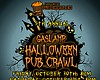 Promotional graphic for the 5th Annual Halloween Pub Crawl.