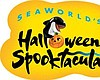 Promotional graphic for Halloween Spooktacular, weekends Sept. 26th - Nov. 1st, at SeaWorld San Diego. Courtesy of SeaWorld San Diego.