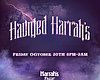 Promotional graphic for Haunted Harrah's 2015