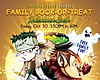 Promotional graphic for the Book-or-Treat Halloween Bash at Imperial Beach Farmers Market
